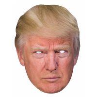 Bild på Pappmasker Donald Trump