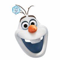 Bild på Pappmasker Frozen Olaf