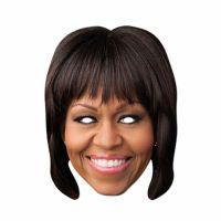 Bild på Pappmasker Michelle Obama