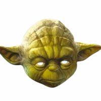 Bild på Pappmasker Star Wars Yoda
