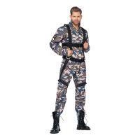 Bild på Paratrooper Militär Deluxe Maskeraddräkt - Medium d8da99b7ae9bf