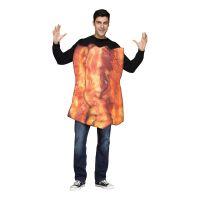 Bild på Party Bacon Maskeraddräkt - One size