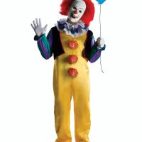 Bild på Pennywise Clown Retro Maskeraddräkt Xlarge