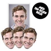 Bild på Personlig Pappmask - 5-pack