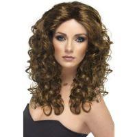 Bild på Peruk glamour brun
