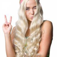 Bild på Peruk  Hippie med pannband