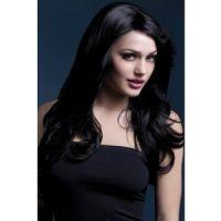 Bild på Peruk Nicole lång vågig - svart