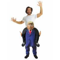 Bild på Piggy Back Donald Trump