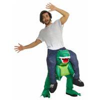 Bild på Piggy Back T-Rex Maskeraddräkt