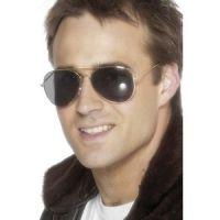 Bild på Pilotsolglasögon - guld