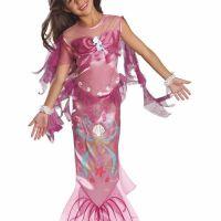 Bild på Pink Mermaid, Maskeraddräkt Barn - Small
