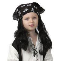 Bild på Pirat barnperuk