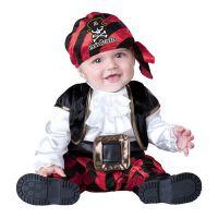 Bild på Pirat Bebis Maskeraddräkt - Small