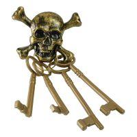 Bild på Pirat Dödskalle Nyckelknippa