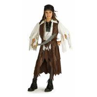 Bild på Pirat Drottning Maskeraddräkt Barn