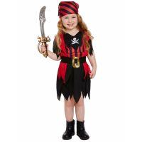 Bild på Pirat Flicka Maskeraddräkt Barn