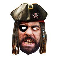 Bild på Pirat Pappmask