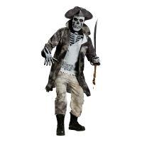 Bild på Pirat Skelett Maskeraddräkt - One size