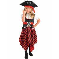 Bild på Piratdräkt Barn Flicka (Small (3-4 år))