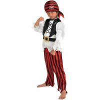 Bild på Piratdräkt Barn Pojke (Small (3-4 år))