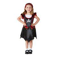 Bild på Piratflicka Toddler Maskeraddräkt - 1-2 år