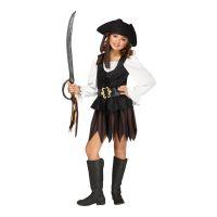 Bild på Piratklänning Rustik Barn Maskeraddräkt - Small
