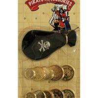 Bild på Piratpåse med guldpengar