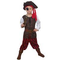 Bild på Piratpojke Barn Maskeraddräkt (Small)