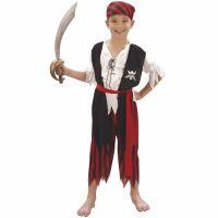 Bild på Piratpojke Maskeraddräkt Barn
