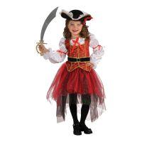 Bild på Piratprinsessa Barn Maskeraddräkt - Small