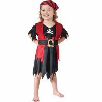 Bild på Pirattjej Barn Maskeraddräkt