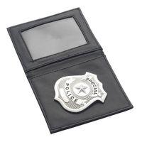 Bild på Plånbok med polisbricka