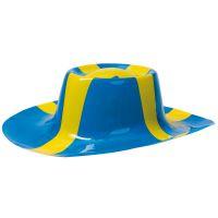 Bild på Plasthatt Sverigeflagga