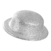 Bild på Plommonstop Glitter Silver Hatt - One size