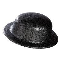Bild på Plommonstop Glitter Svart Hatt - One size