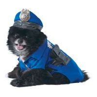 Bild på Polis Hund Maskeraddräkt - Small