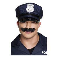 Bild på Polis Mustasch Svart
