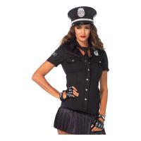 Bild på Poliskjorta med Slips Dam Deluxe - Small