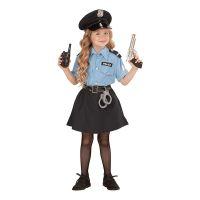 Bild på Polisofficer Flicka Barn Maskeraddräkt - Small