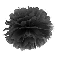 Bild på Pompom Svart - 25 cm