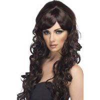 Bild på Popstjärna peruk, brun