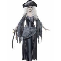 Bild på Prinsess Piratkvinna Spökdräkt (Small)