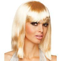 Bild på Rak Blond Peruk