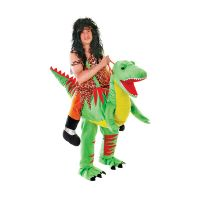 Bild på Ridande Dinosaurie Maskeraddräkt - One size