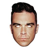 Bild på Robbie Williams Pappmask - One size