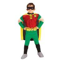 Bild på Robin med Muskler Barn Maskeraddräkt - Small
