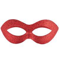 Bild på Röd Ögonmask med Glitter