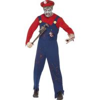 Bild på Rörmokar-zombie maskeraddräkt