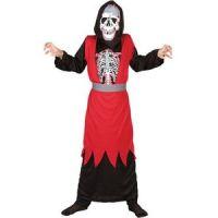 Bild på Rött skelett maskeraddräkt barn