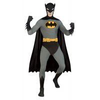 Bild på Second Skin Batman Maskeraddräkt (Medium)